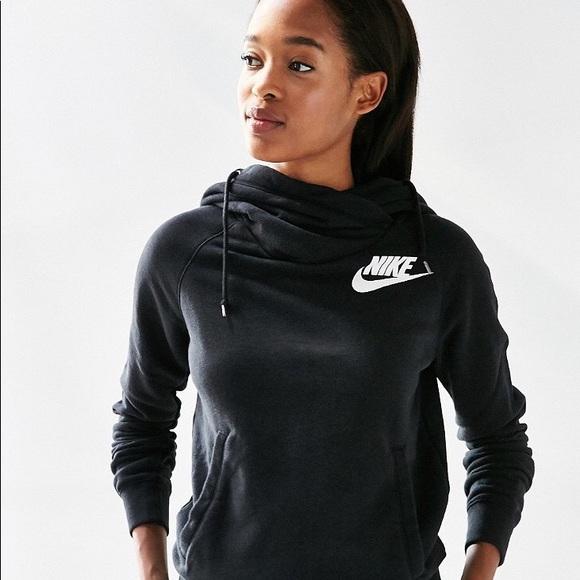 Womens Nike Rally Funnel Hoodie